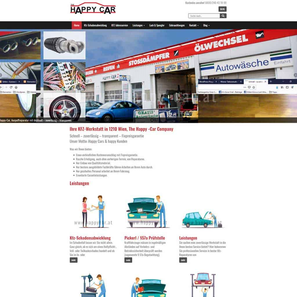 Webseiten - www.happy-car.at